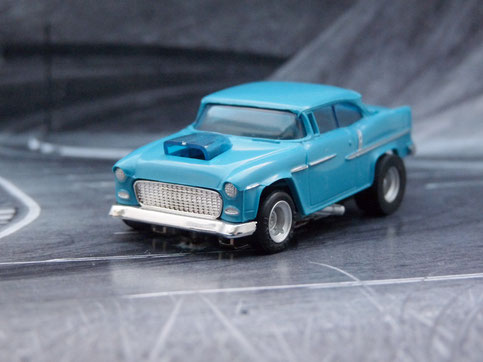 Faller AMS '55 Chevy Bel Air blau