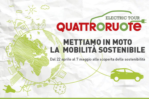 quattroruote electric tour 2017 - La Mugletta part of this green event