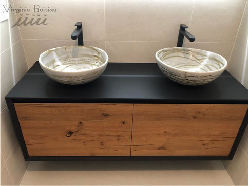 virginie boitiau iiiii vasque de salle de bain en porcelaine
