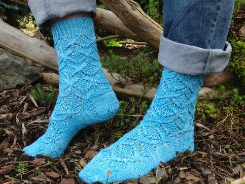 Crossers Socks, Knit Now Magazin, Ausgabe 62