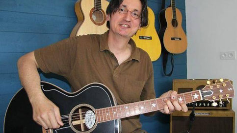 Article Ouest-France Sacha Stefanovic - Luthier Guitares Dinard