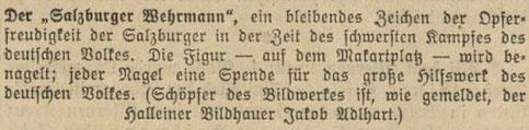 Salzburger Volksblatt, 06. Mai 1942