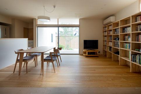 陽留の家 烏野建築設計室