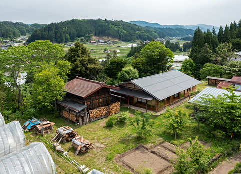 丹生川の古民家 烏野建築設計室