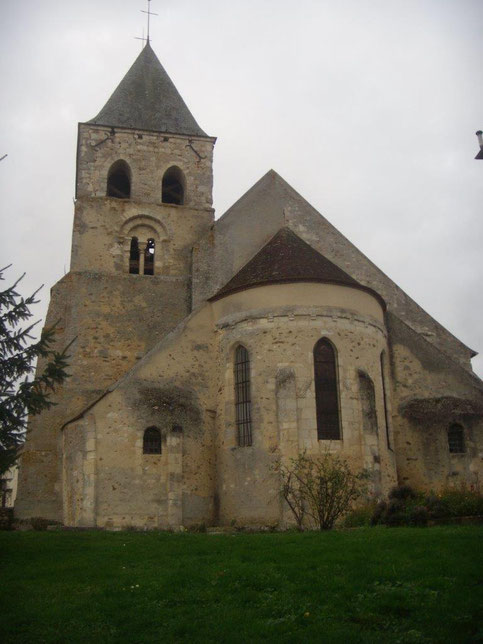 Montlevon (02). Eglise Saint-Martin.