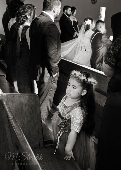 boda, iglesia, nina, novios