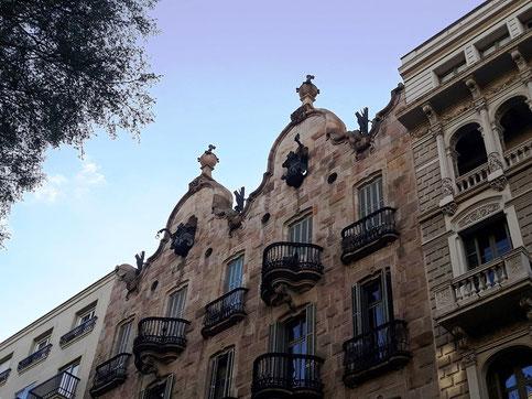 Все работы Гауди в Барселоне - дом Кальвет