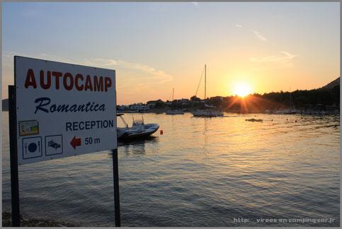 © Virees en camping car Croatie