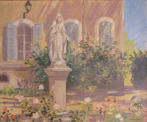 Sainte Marie de Lourde au Domaine de la Castille à Toulon.