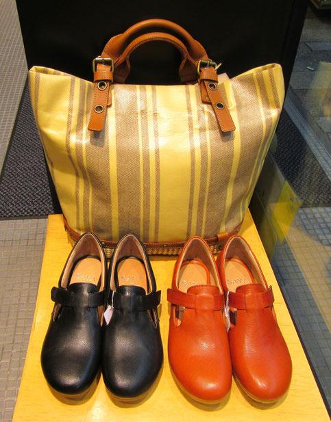SAYA(靴) Saponetta(バッグ)