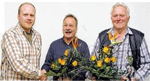 Vorsitz. Stefan Greubel verabschiedet seinen Vorgänger Lothar Hoffmann - 2011