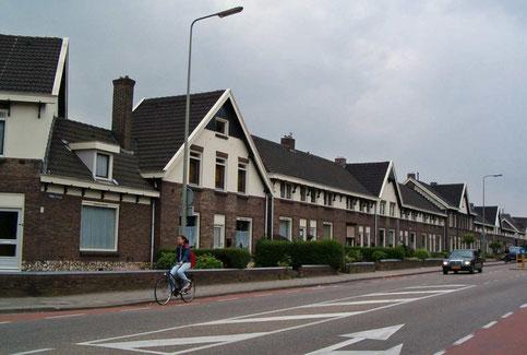 Spoorwerkerskolonie Tunnelstraat Sittard gemeentelijk monument