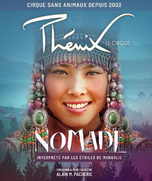 Cirque PHENIX Paris Spectacle de Noel CIRQUE DE MONGOLIE 2019 - NOMADE