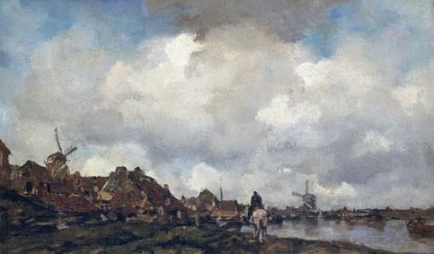 Altes Gemälde, niederländisch