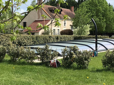 Ouverture de la piscine au printemps, de Mai à Septembre
