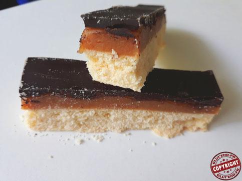 shortbread millionnaire sans gluten sans oeuf (sans lactose)
