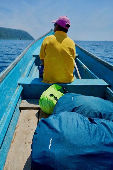 Transport zwischen den Inseln