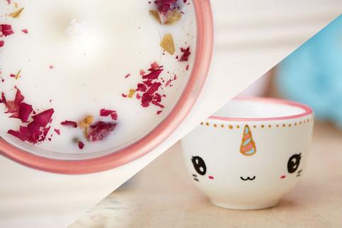 Isabelle, Serif & Glyph, tasse, panda, chat, chandelle, ludique, minimaliste, licorne