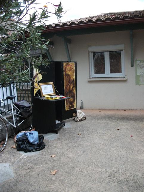 """Les """"Cimaises Volantes"""" à Saint Affrique 2013"""