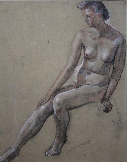 te_koop_aangeboden_een_pastel_kunstwerk_van_de_nederlandse_kunstschilder_jaap_dooijewaard_1876-1969