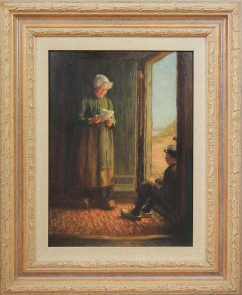 te_koop_aangeboden_een_schilderij_van_de_nederlandse_kunstschilder_hendricus_dievenbach_1872-1946_larense_school