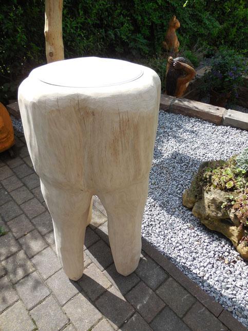 """Backenzahn """" Waschtisch aus Eiche"""" 90 cm"""
