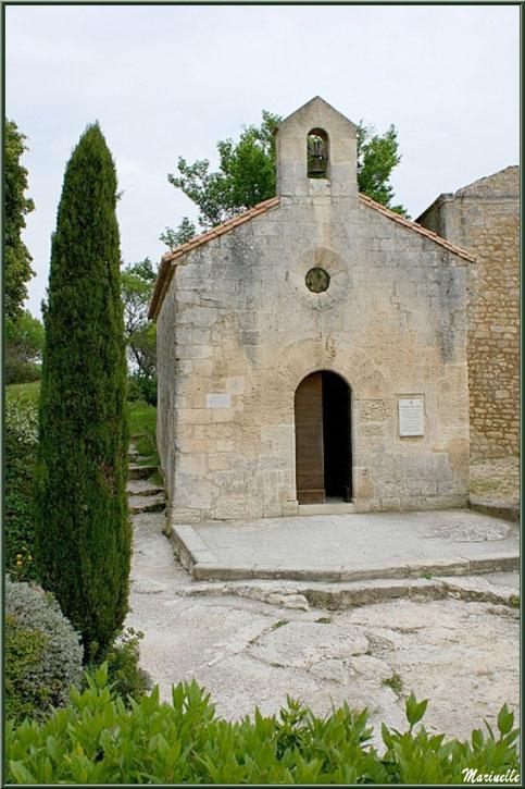 Chapelle Saint-Blaise, Château des Baux-de-Provence, Alpilles (13)