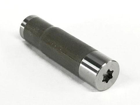 トルクスT30穴付き特殊ボルト素材