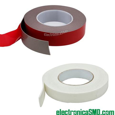 cinta adhesiva doble cara guatemala, cinta espuma doble cara, tape doble contacto, guatemala, electronica, electronico