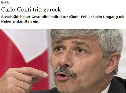 CVP-Politiker Conti und seine Nebeneinkünfte