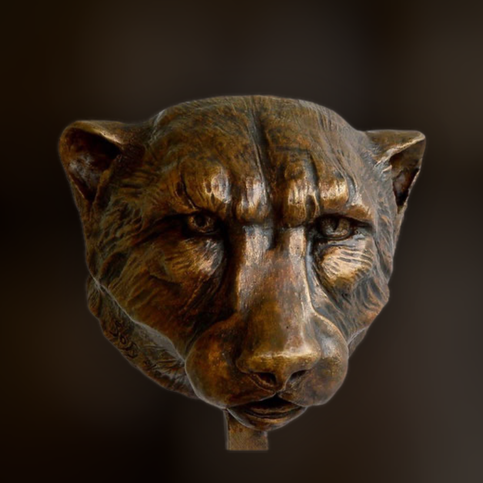 sculpture, bronze, guépard, cheetah, bronze animalier, art animalier, Sophie Gérault