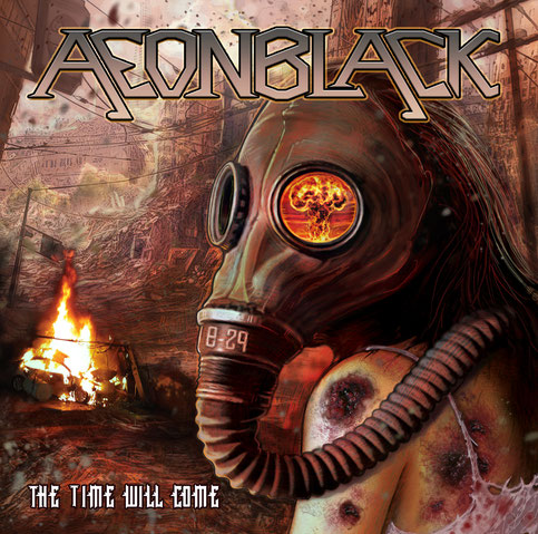 Aeonblack - The Time Will Come | Design by: Andreas Nagel