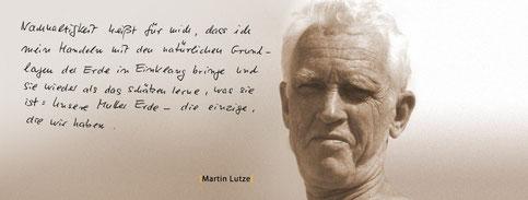 Martin Lutze Gesichter der Nachhaltigkeit