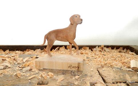 Hunde Portrait Figur - Henry