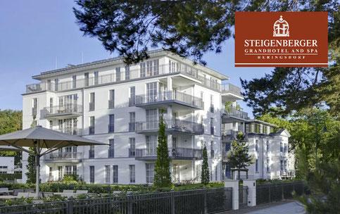 Das Steigenberger Grandhotel And Spa in Heringsdorf. Hier wohnen unsere VIP Gäste.