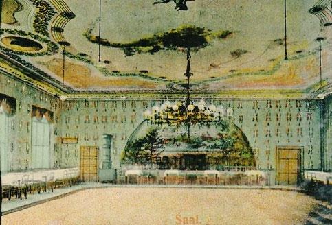 Blick in den großen Tanzsaal