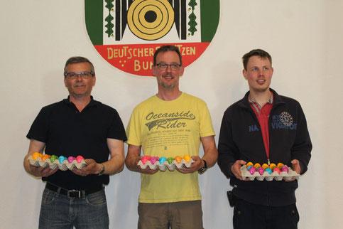 Von links nach rechts: Rainer Müller, Marco Schmidt, Philipp Quirnbach