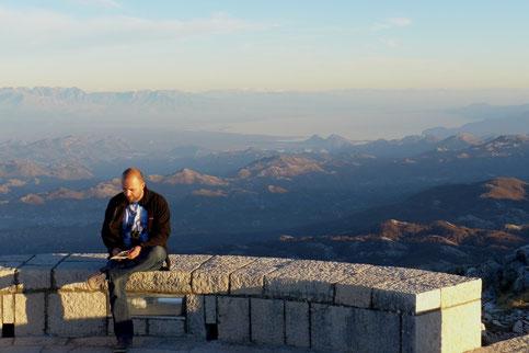 Skadarsko lake Mausoleum Cetinje Montenegro