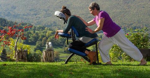 Massages assis séminaires organisation évenements entreprise