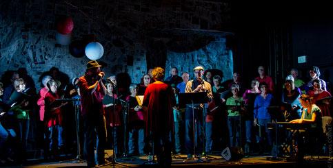 Chorale Folie Douce en concert