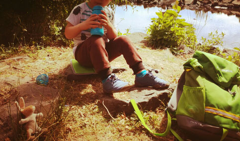 Picknick direkt am Wasser