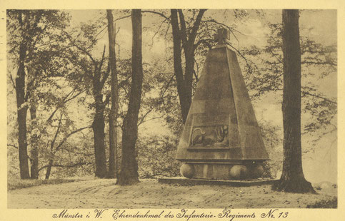 Das Denkmal an der Westerholtschen Wiese