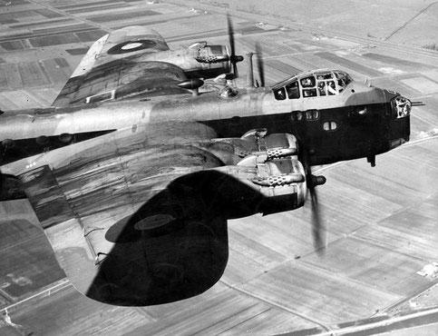 Stirling Bomber. Bildquelle: http://www.wwiivehicles.com