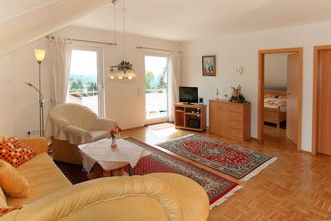 Ferienappartement für 2 Personen, Wohnzimmer