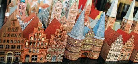 Lübeck als Bastelmodell