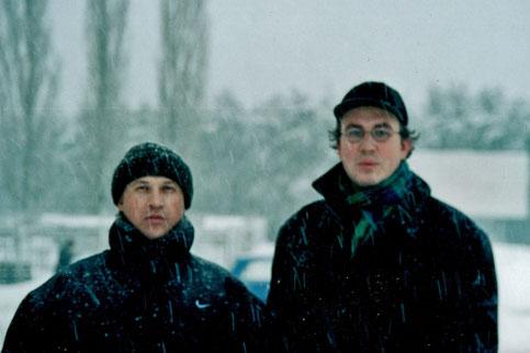 Unterwegs in Noworonesch mit dem Polizisten Wjatscheslaw