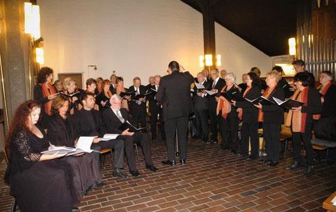 Quartettverein Rath-Heumar, Kirche zum Göttlichen Erlöser am 07.10.2018