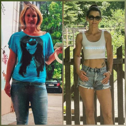 Vorbild Erfolg T4X Trainings & Ernährungskonzept T4X Shape Drops M.I.N.T.U. Beauty