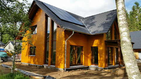 Heating with Ice - First Stommel Haus in Scotland will enjoy the comfort and energy efficiency of a Viessmann Solar Ice heating
