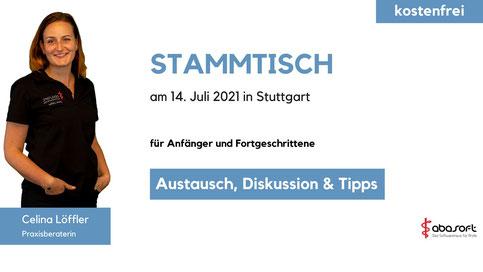 Ärzte Praxisverwaltung Praxissoftware EVA Austausch Stammtisch Stuttgart